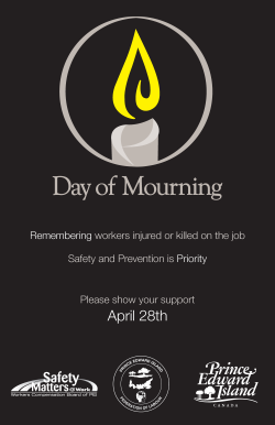 Day of Mourning Poster