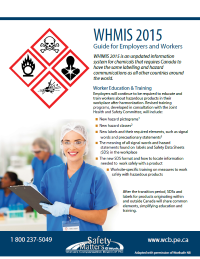 WHMIS 2015: Guide for Employers and Employees